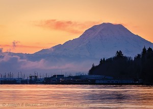 Rainier Morning, Owens Beach, Tacoma