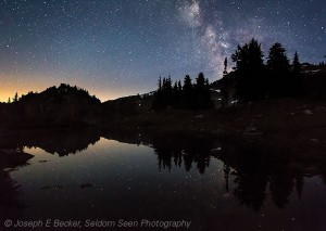 Milky Way, 7 Lakes Basin, Olympic National Park