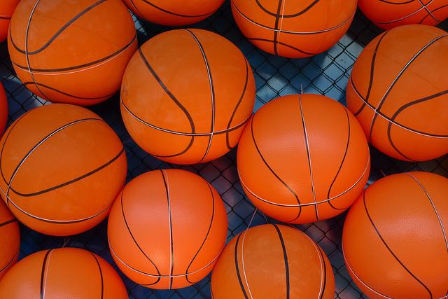 basketballs by Hakan Dahlstrom via Flickr