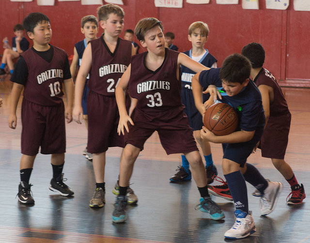 kids basketball by thatlostdog-- via Flickr