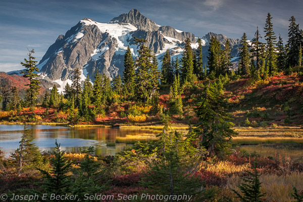 Mount Shuksan from Heather Meadows