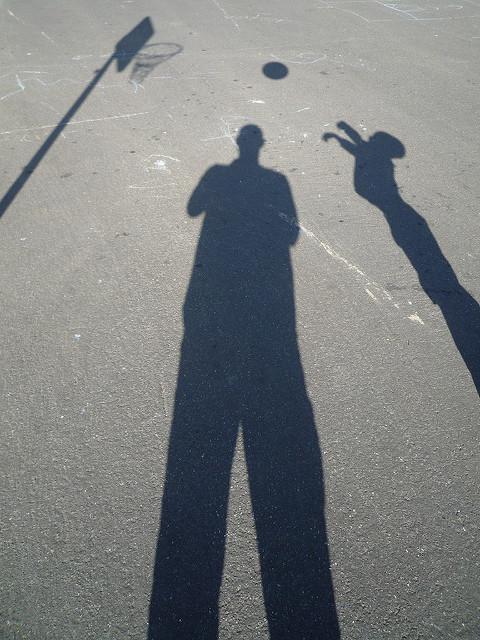 bball shadows by Jeff Turner via Flickr
